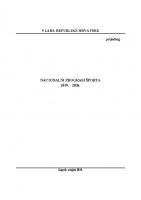 Nacionalni program sporta 2019.-2026.